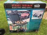 George Foreman Grill indoor/outdoor