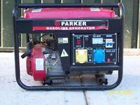 Parker Gasoline Generator