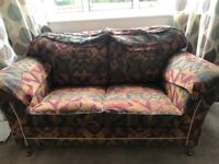 2 Seater Duresta Sofa, with 3 cushions