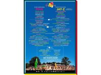 Pair of v festival red camping tickets chelmsford