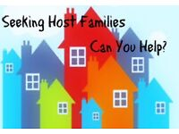 Host families required in Exmouth area/lympstone/topsham