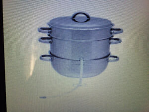 Wanted: steam juice extractor