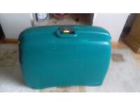Large hard bodied suitcase