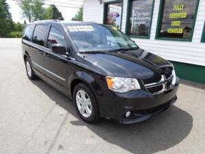 2016 Dodge Grand Caravan Crew Plus only $212 bi-weekly all in!