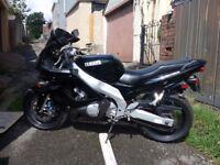Yamaha thundercat 600cc motorbike