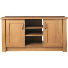 Ohio 2 Door Low Sideboard - Oak Effect