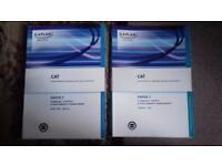 CAT Paper 7 Planning, Control & Performance Management Study Text and Exam Kit Books for Sale