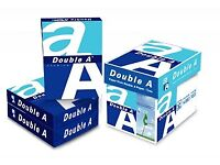 Double A paper for sale A4 80Grams 500 sheets (1560 boxes)