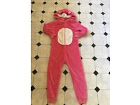 Girls NEXT pink cat onezee age 10 years £2