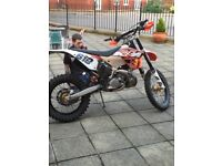 Ktm exc road legal mot expired starts and rides fine