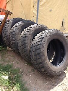 Khumo mud tires 37-13.5-r20