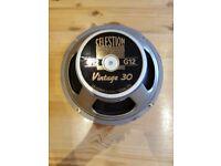 """Celestion V30 12 """" 16 ohm 30 watt speaker"""