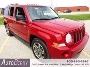2009 Jeep Patriot Sport 4WD *** ONE OWNER***CERTIFIED *** $5,499