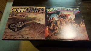 Molly hatchet and the outlaws.