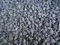 garden, path, stones / gravel blue chip colour