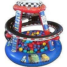 Cars Inflatable Ball Pit w/ Extra Balls