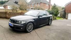 BMW E82 Coupe 08/58 Black 123D 1 series M sport