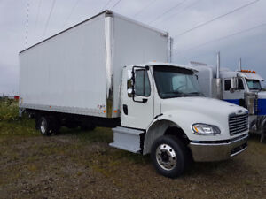 2017 FREIGHTLINER M2 106 Straight Truck with Hydraulic Brakes