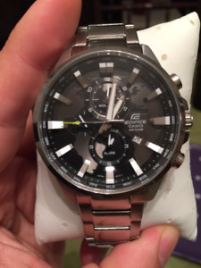 Casio Ediface 5468 EFR-303 Watch 48mm $180