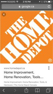 $63 HOME DEPOT GIFT CARD FOR SALE