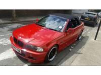 2002 BMW 330CI M SPORT AUTO IMOLA RED