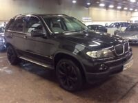 2005 BMW X5 3.0 D SPORT DIESEL AUTOMATIC BLACK 4X4 JEEP MOT GREAT DRIVE SPACIOUS NOT 5 7 3 SERIES ML