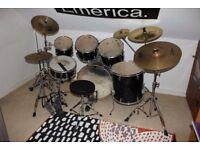 Mapex VXB series drum kit for sale