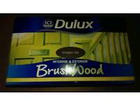 Dulux Brushwood interior & exterior paint