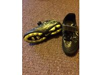 football shoes size 12 and socks