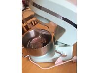 Candy rose stand mixer blue