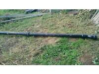 Cast iron soil pipe with ears