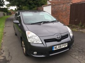 toyota corolla verso sr d4d 1 owner from new