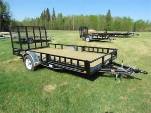 "NO GST SALE ON NOW!  - 83"" x 14 ft PJ Utility trailers"
