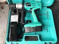 Tool Master rechargeable drill 24v