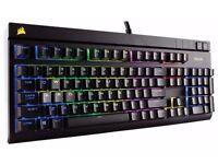 corsair strafe rgb mechanical gaming keyboard (cherry mx red) £100 antrim