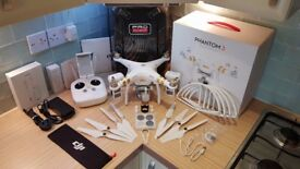 (SOLD) DJI Phantom 3 Professional 4K Drone Package Boxed like New