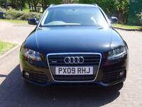 AUDI A4 2009, 2.0 AVANT TDI QUATTRO DPF SE 5d 168 BHP EXCELLENT 4 WHEELS DRIVE