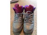 Nike air Jordan girls boots