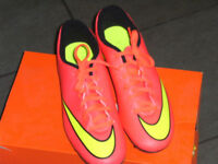 BRAND NEW NIKE MERCURIAL VORTEX 11 FG FOOTBALL BOOTS - SIZE 8