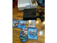 Ps4 console with rugby and more