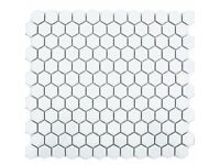 White Hexagonal Tiles