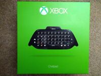 Xbox One Chatpad and Headset bundle, black, NEW, SEALED BOX