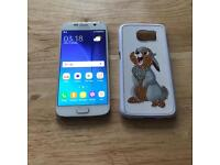 Samsung Galaxy S6 32gb White Unlocked...!!!