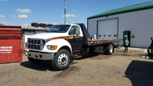 2003 f750 tow truck
