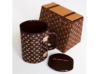 luxury mug with gift box LV