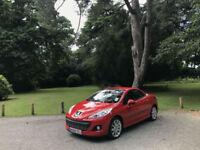 2011 Peugeot 207 CC 1.6 THP 156 GT 2 Door Convertible (13,000 Miles 1 Owner )
