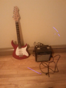 Pevey raptor plus Guitar & amp worth over 300