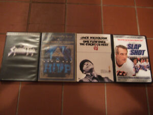 Music/movie DVDs for sale- $1 each