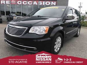 2011 Chrysler Town & Country TOURING DVD CUIR VOLANT CHAUFFANT