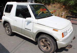 1998 Suzuki Sidekick - Good hunting truck - similar to Tracker